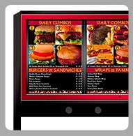 Drive Thru Menu Boards
